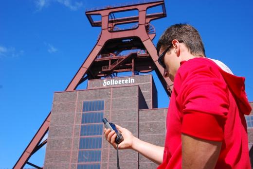 Geocaching auf Zollverein - Bild: Garmin/Sportfaktor