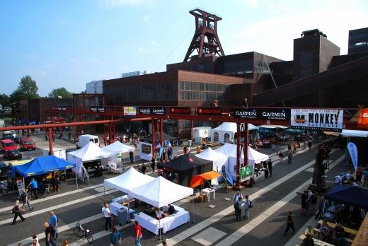 Garmin GPS-Festival auf Zollverein in Essen / Messe - Bild: Garmin/Sportfaktor