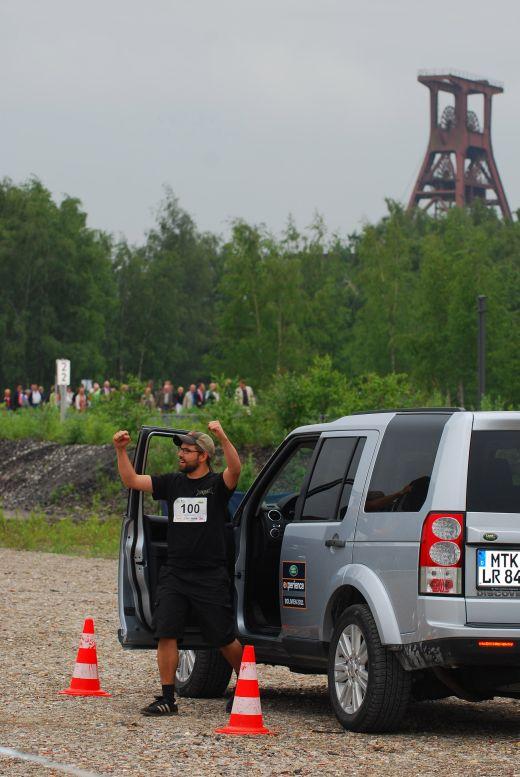 Garmin GPS-Festival auf Zollverein - Land Rover Fahrtechnik - Bild: Garmin