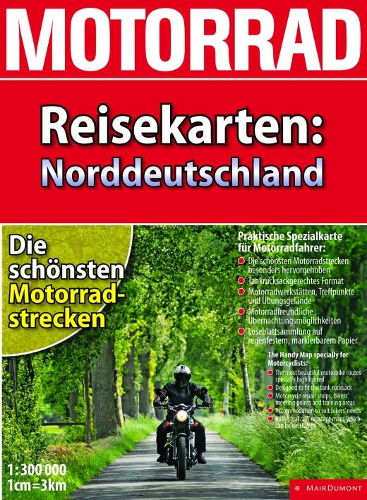 Motorrad ReisekartenNorddeutschland - Bild: Mair Dumont