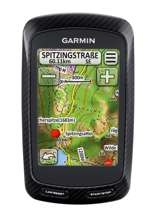 Garmin Edge 800 - TopoD2010 - Bild: Garmin