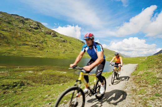 Biken im Montafon, Fotoverweis: Edi Gröger, Bildquelle: Montafon Tourismus