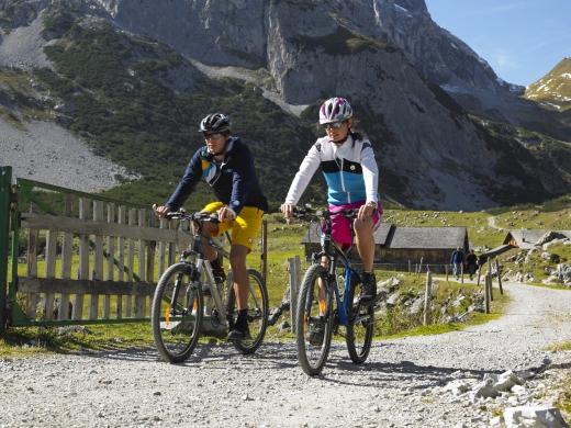 Biken im Montafon 1, Fotoverweis: Alex Kaiser / Montafon Tourismus