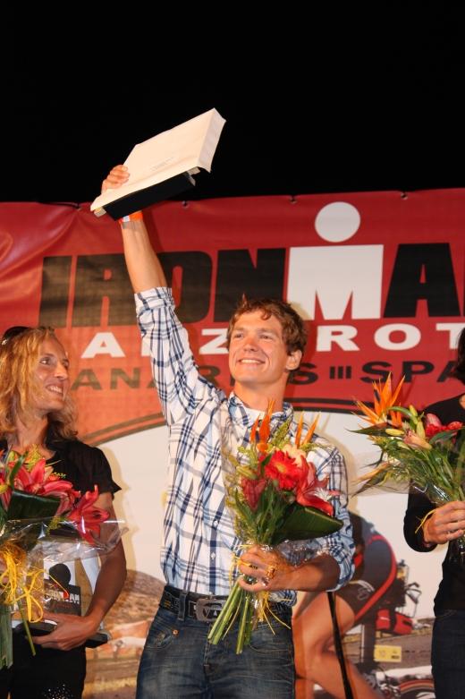 Konstantin Bachor erreichte Platz zwei beim Ironman Lanzarote - Bild: Cervélo