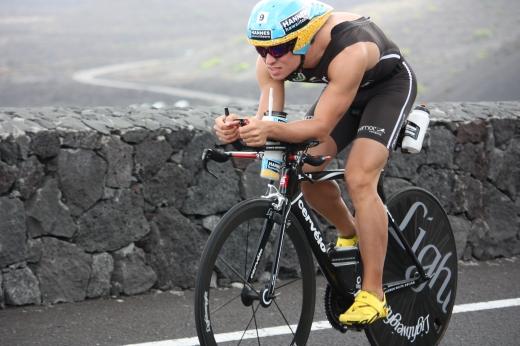Konstantin Bachor beim Ironman Lanzarote - Bild: Cervélo