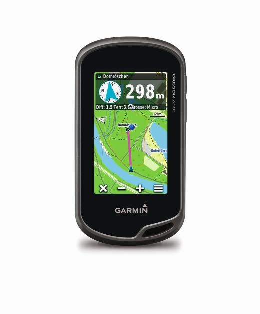 Garmin Oregon 650t - Bild: Garmin