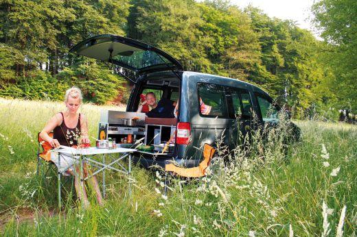 QUQUQ Campingbox im Einsatz - Fotocredit: QUQUQ Campingbox
