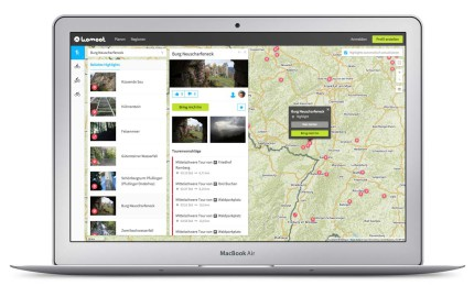 Screenshot komoot - Outdoor App komoot - Fotocredit: komoot